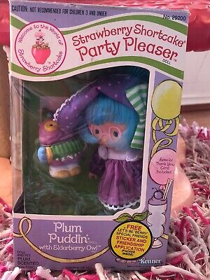 Plum Puddin With Pet Elderberry Party Pleaser WITH Box Rare New