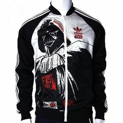 ADIDAS STAR WARS Dark Side Darth Vader Black Ds Track Top