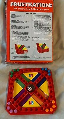 Frustration Board Game Travel Edition Retro  1994 MB Games