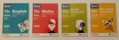 Bond 11 plus 4 book set BNIB