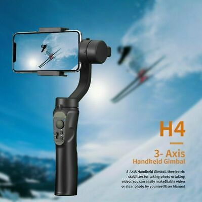 3 Axis Handheld Smart Phone Cinematic Stabiliser Gimbal Mobile H4 Action-Camera