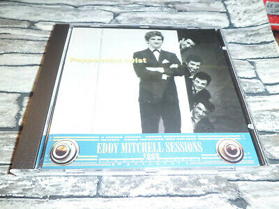 Eddy Mitchell  Sessions Peppermint Twist 1962 / Cd 23 Titres  Rare