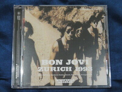 Bon Jovi Zurich 1993 CD 2 Discs 18 Tracks Moonchild Records Music Pops Rock F/S
