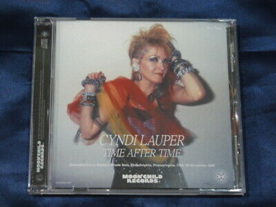 Cyndi Lauper Time After Time 1986 CD 1 Disc 14 Tracks Moonchild Records Music