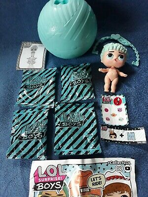 LOL Surprise Dolls Boys Series 1 His Royal High-Ney Only Doll Opened