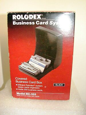 Rolodex Business Card System ~ Model BC-102 ~ New Old Stock