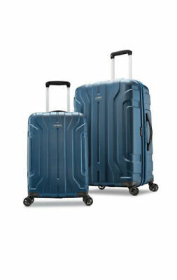 "BRAND NEW Samsonite Belmont DLX 2-Piece Hardside Luggage Set - BLUE 20"" & 25"""