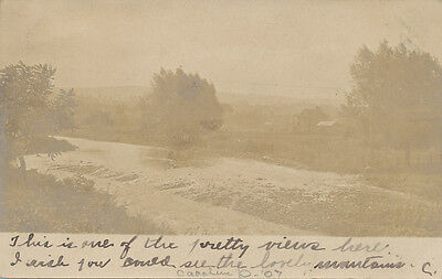 Meyersdale PA * Local area RPPC View 1907 * Somerset Co.
