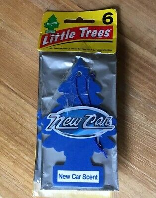 Little Trees Air Fresheners 6-Pack New Car Scent