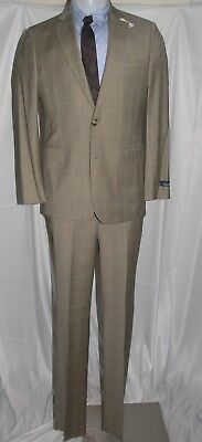 Brooks Brothers 1818 Fitzgerald Two Button Prince of Wales Suit 38R $1200 NWT