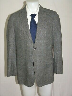 Brooks Brothers 1818 Fitzgerald E. Thomas Cashmere Blend Two Button Blazer 40R
