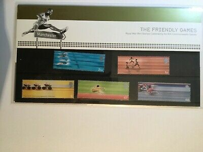 """GB Stamp Presentation Pack """"Commonwealth Games"""" 2002 Good - to Fine + 2 on sale"""