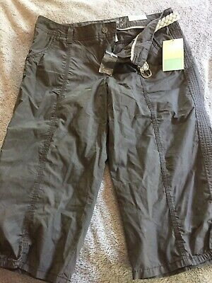 Sonoma WOMENS BROWN/GREEN CARGO CAPRIS   SIZE 12.     NEW