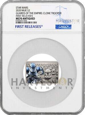 2020 Star Wars - Guards Of The Empire - Clone Trooper - Ngc Ms70 First Releases