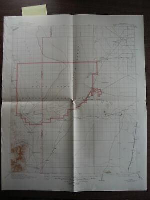 USGS Topographic Map Point of Sands Quadrangle New Mexico