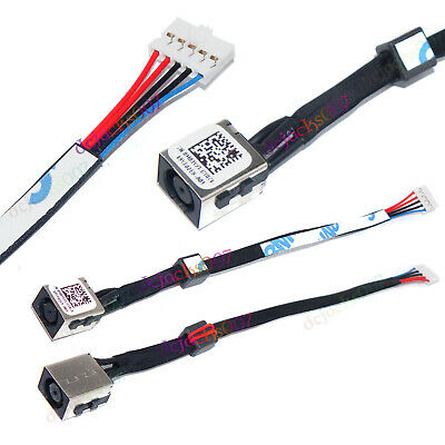 DC Power Jack Connector with Cable Replacement for Dell Inspiron 5540 5542 5545 5547 5548 Series Laptop M03W3 0M03W3 P39F