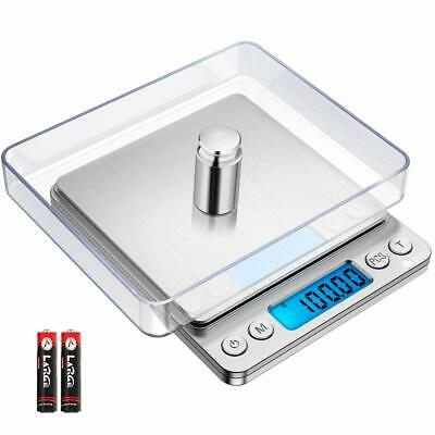 Mini Digital Scale 3000g x 0.1g Jewelry Gold Silver Coin Gram Pocket Herb Grain
