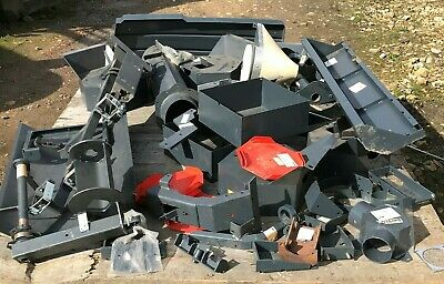 Selection of various new/unused stock of Hako parts for cleaning machine.