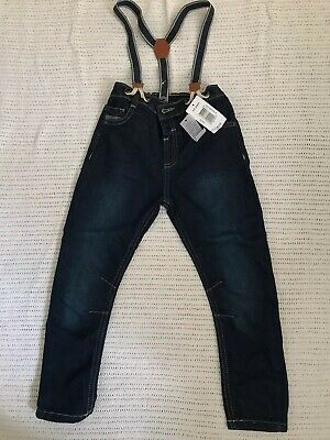 MATALAN Toddler Jeans With Braces - Aged 4-5