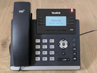Yealink SIP-T42G 12 Line Gigabit Cable HD IP Phone