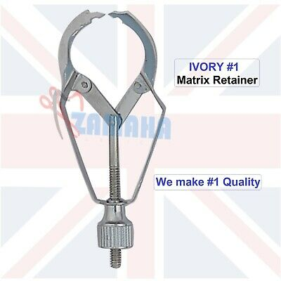 Dental Ivory Matrix Retainer Dentist Tools German Stainless Steel