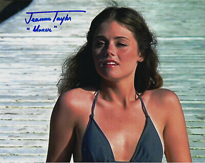 Jeannine Taylor Marcie Friday the 13th hand signed 8X10 photo w/ COA autograph