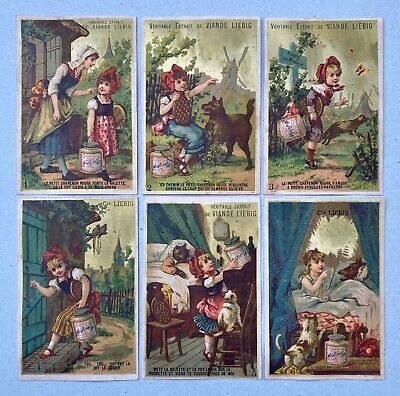 Chromos Liebig S 115  Complete Set Little Red Riding Hood / Petit Chaperon Rouge