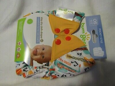 BumGenius 4.0 pocket diaper - Louis / Limited Edition Print