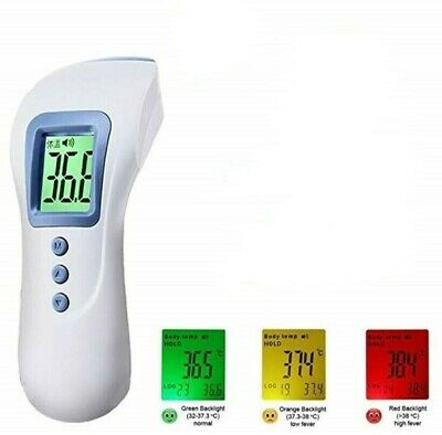 Medical Fever IR Infrared Digital Thermometer Non Contact Forehead - Baby/Adult