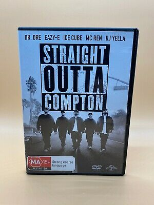 Straight Outta Compton (DVD, 2016)