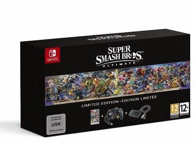 Super Smash Bros Ultimate Limited Edition + RARE BONUS (for Nintendo Switch)