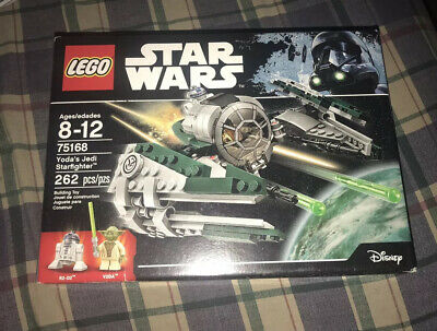 New Sealed LEGO® Star Wars 75168 Master Yoda's Jedi Starfighter With R2-D2 R2D2