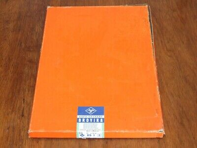 Vintage expired Agfa Brovira BS 1 photographic paper 12x16in 50 sheets