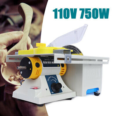 Woodworking Table Saw Bench Precision Table Benchtop Blade Lathe DIY Polisher