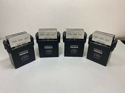 4 x Sorvall TAQMAN 75015679 w/ 75015686 for 75006445 Rotor - Legend Centrifuge