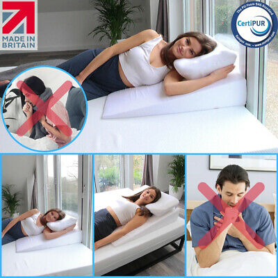 Respiratory, Pneumonia, Flu Bed Wedge Pillow - Helps With Breathing Difficulty✔