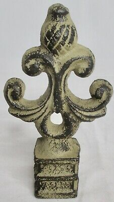 Vintage Ornate Cast Iron Fence Finial 5 1/4 x 3