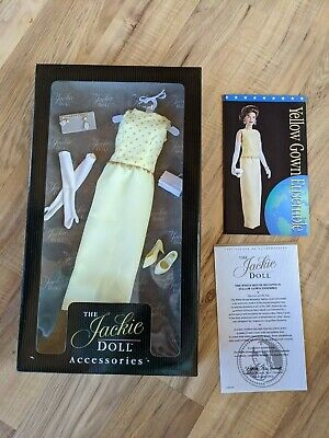 Franklin Mint The Jackie Doll The White House Reception Yellow Gown Ensemble
