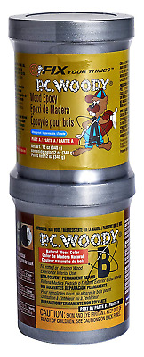 Wood Epoxy Paste Repair Filler Restoration Patch Paintable PC-Woody 12 Oz New