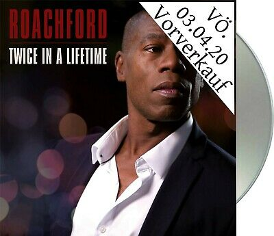 "Roachford ""twice in a lifetime"" Digipack CD NEU Album 2020 Vvk Vö 03.04."