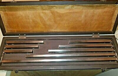 "Fowler 8 Piece, 5 to 20"", Grade 0, Gage Block set 53-670-008"