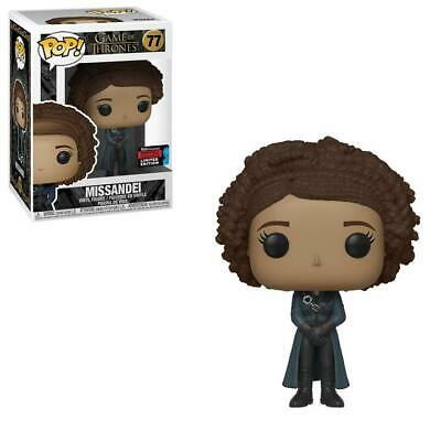 Game of Thrones : Missandei #77 NYCC Exclusive Funko POP! Vinyl Figure