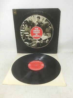 THE UNITED STATES OF AMERICA - Rare 1968 psychedelic acid art rock gem LP - 1st!