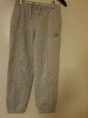 La Gear Kids 8-9 Years Grey Jogger trousers
