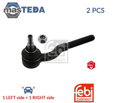 febi bilstein 42682 Tie Rod End with castle nut and cotter pin pack of one