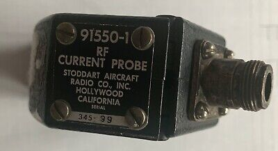 Stoddard Current Probe 91550-1 20Hz to 100MHz - Used