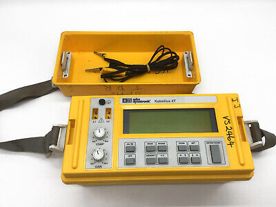 Seba Dynatronic © Kabellux 4T Cable Tester Working