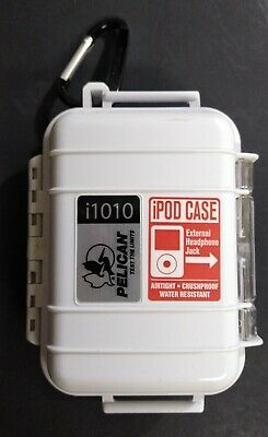 PELICAN i1010 Waterproof Case for iPOD, MP3 Players/Accessories, Crushproof