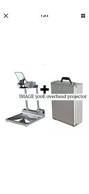 Overhead Projector BRAND NEW Image 500e Compact Overhead projector With CASE