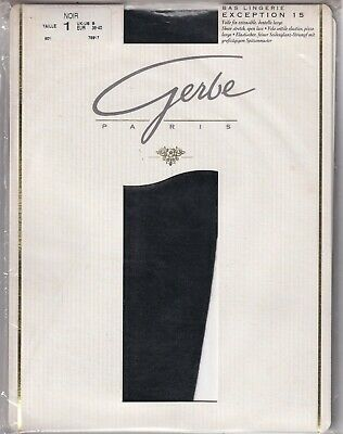 Bas lingerie GERBE EXCEPTION 15. Luxurious stockings.